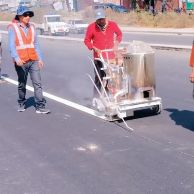 Thermoplastic road marking machine in Dubai
